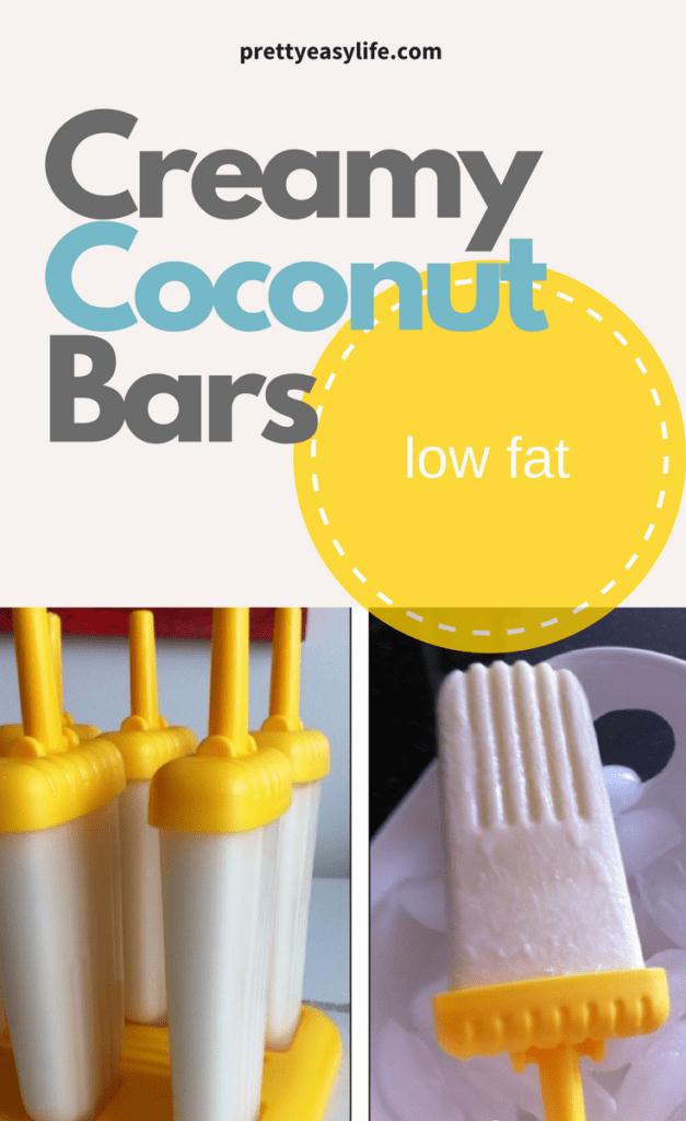 creamy coconut bars