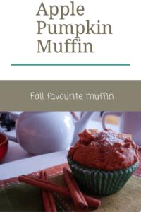apple pumpkin muffins, a fall favourite