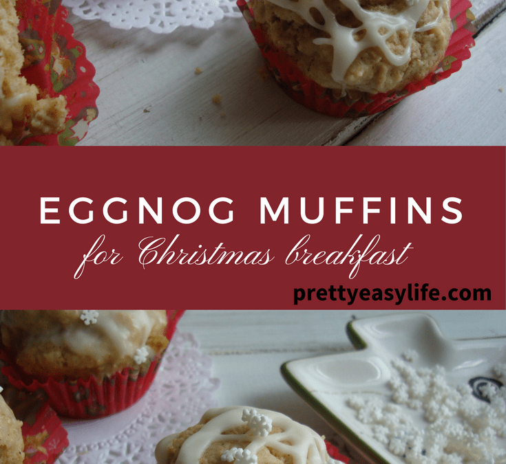 Eggnog muffins for Christmas breakfast