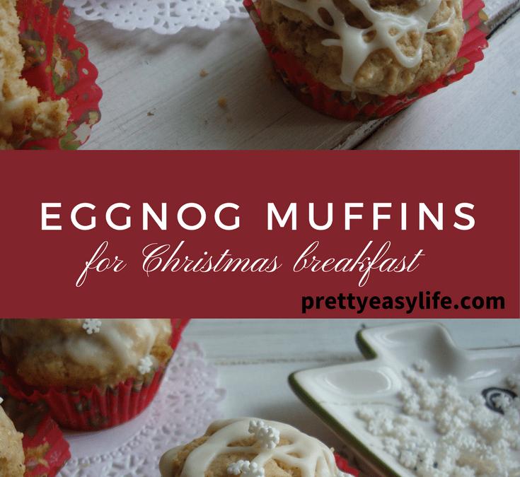 Eggnog muffins for Christmas breakfast