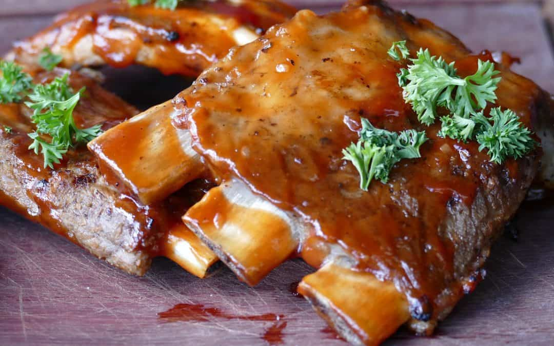 How to make killer back pork ribs marinated in beer