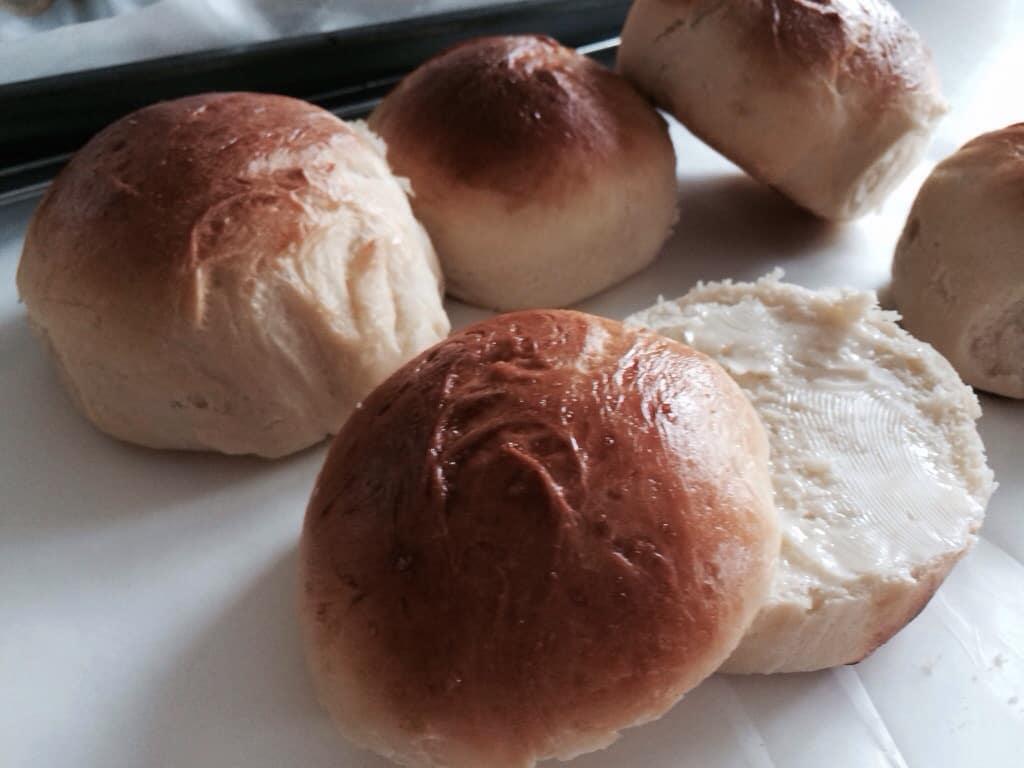 Home made Milk buns Recipe