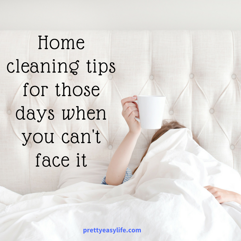Home cleaning tips for those days when you can t face it - Home secrets brief cleaning guide ...