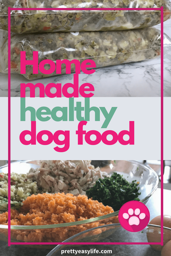 home made healthy dog food