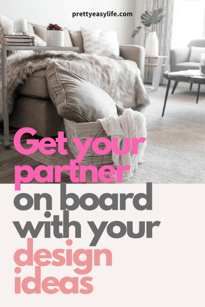 get your partner on board design