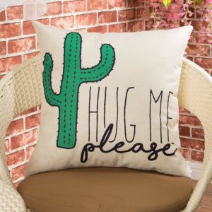 cactus cushion - unexpected gifts you can give to yourself today