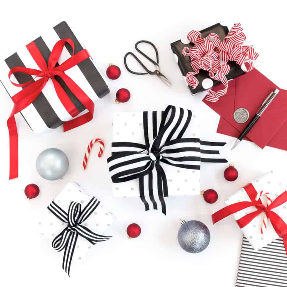 Upgrade you Christmas gift with pretty packaging