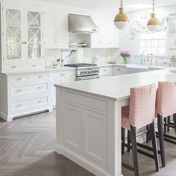 Stunning Contemporary White Kitchen Ideas