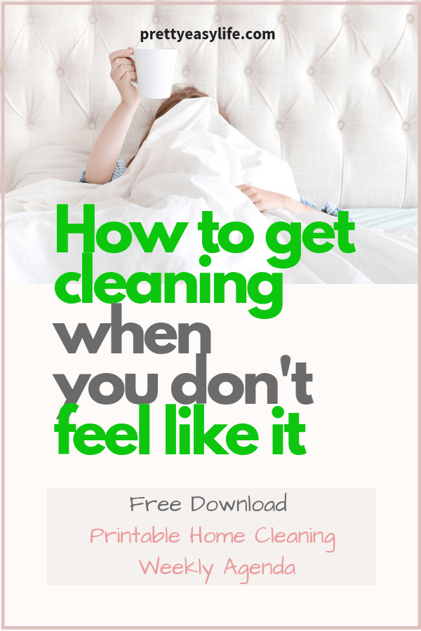 How to get cleaning when you don'tfeel like it with free download
