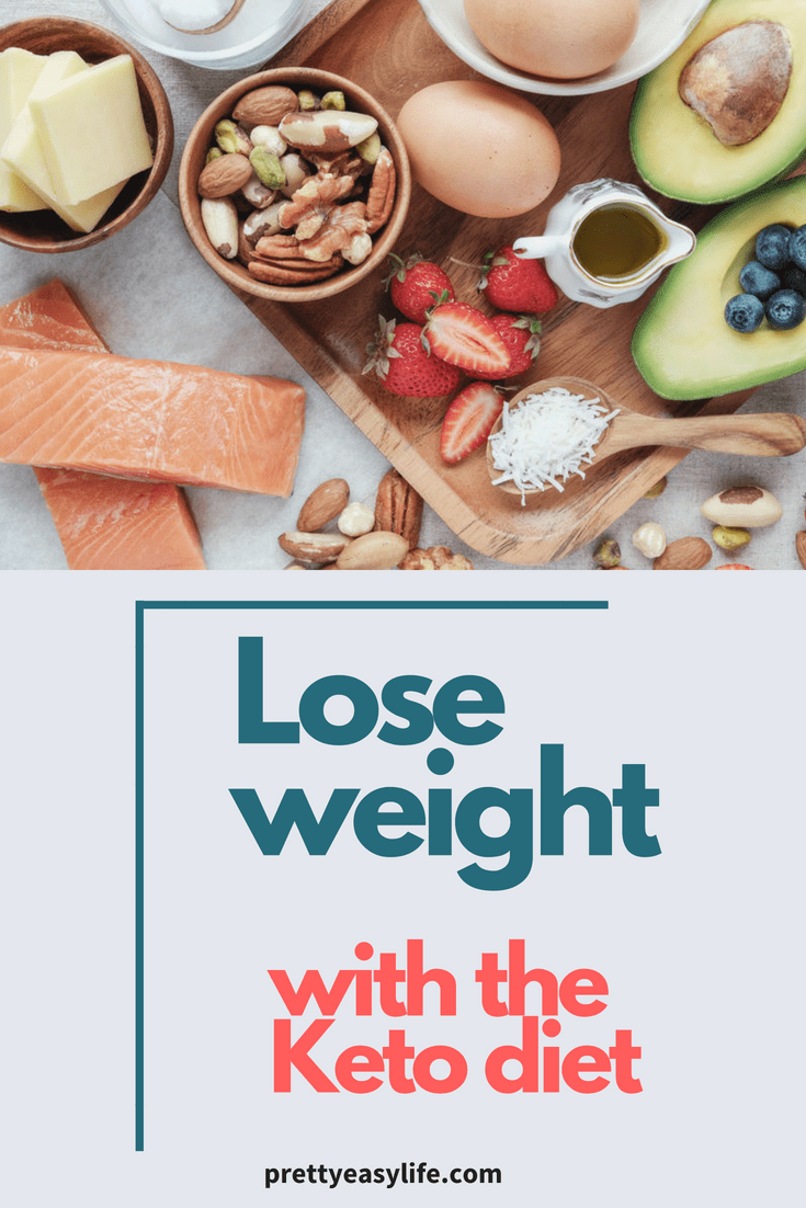 Lose weight with the keto diet