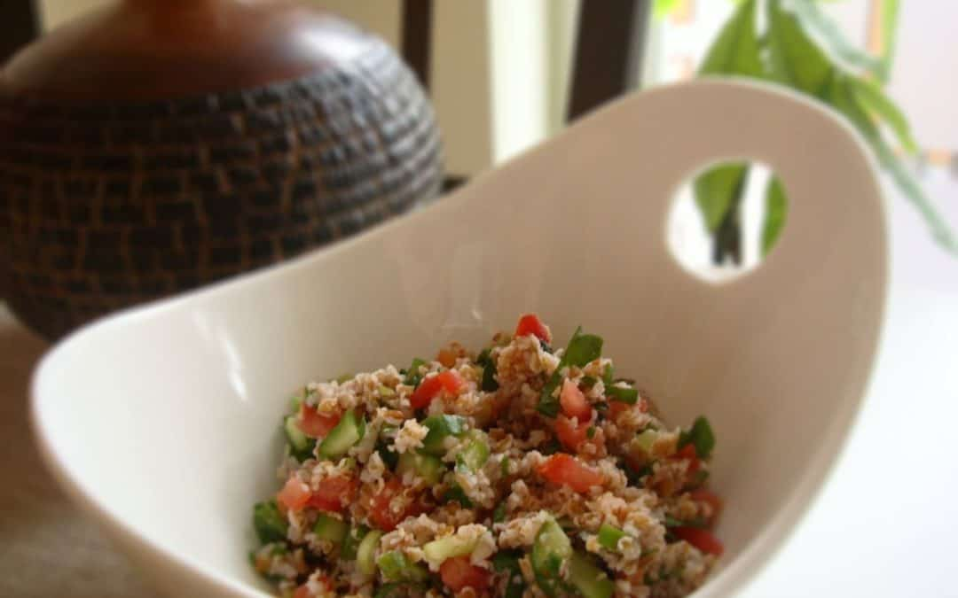 Lemon Mint and Bulgur Tabbouleh Salad