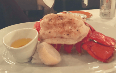 Valentine's Broiled Lobster Tails
