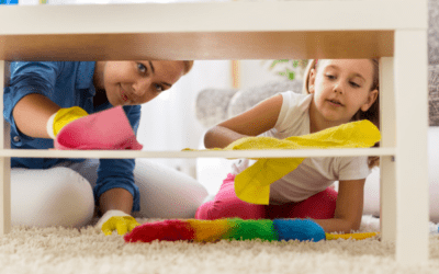 How to Keep a Clean House When You Have Small Children