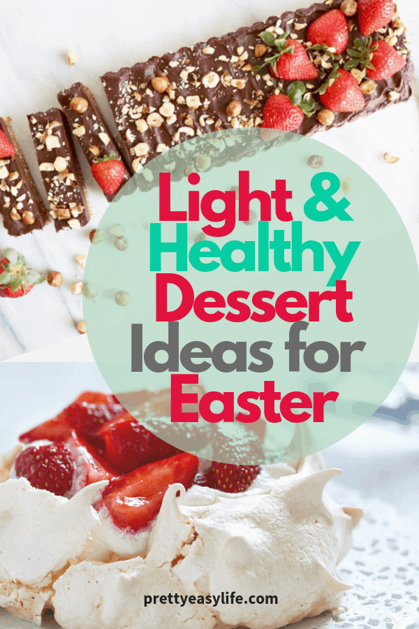 Light and Healthy Desserts for special occasions