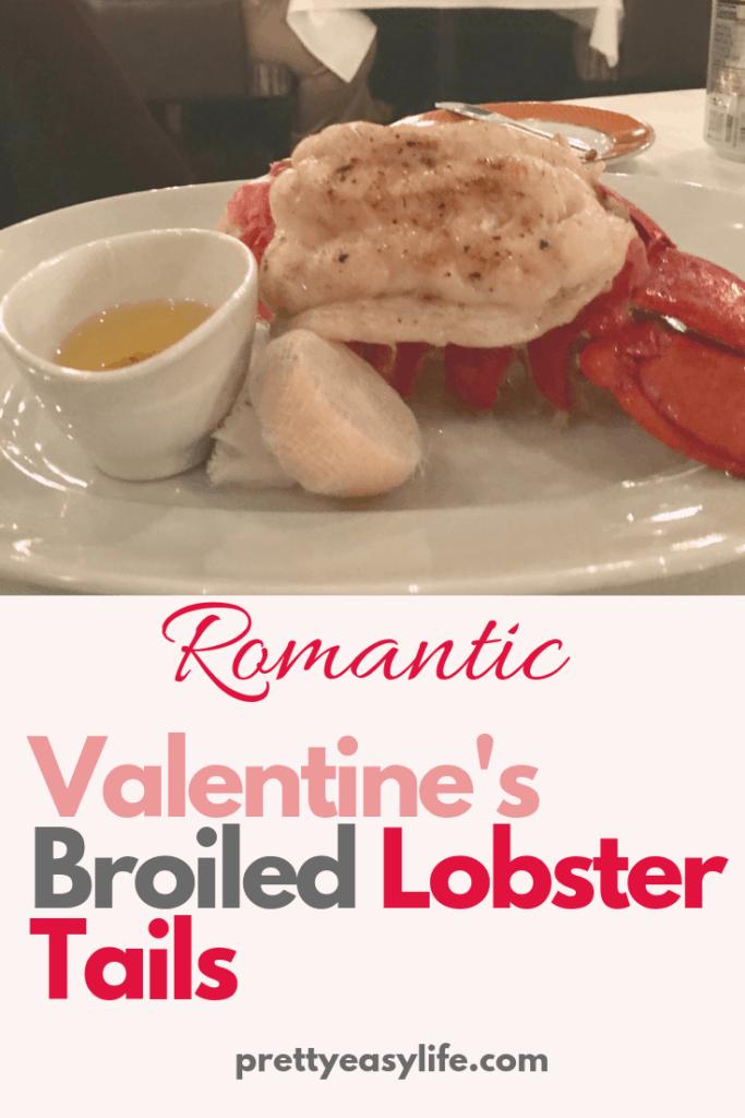 Romantic Valentines Lobster Dinner