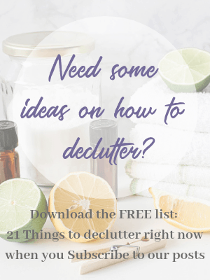 21 things to declutter right now
