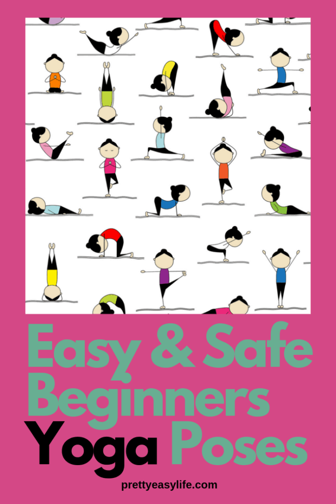 Easy & Safe Beginners Yoga Poses