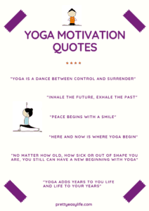 Yoga motivation quotes and sayings