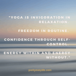 Yoga motivation quote