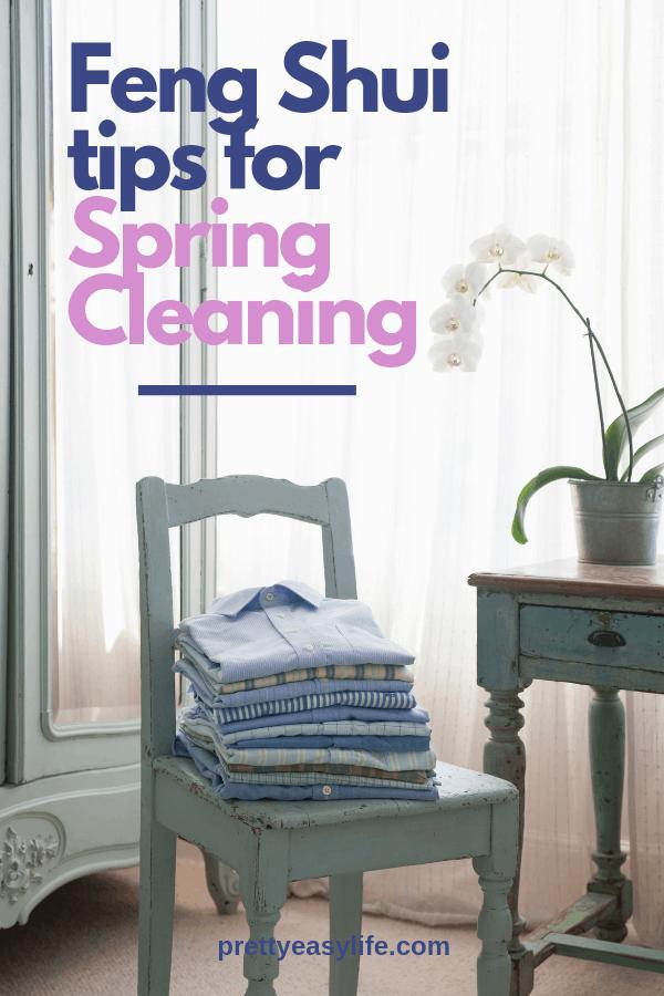 Feng Shui Spring clean