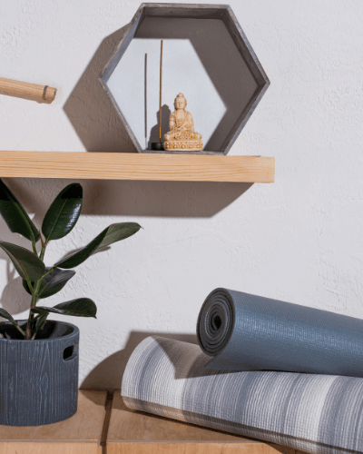 Home meditation space