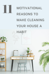 Motivational reasons to develop your house cleaning habit
